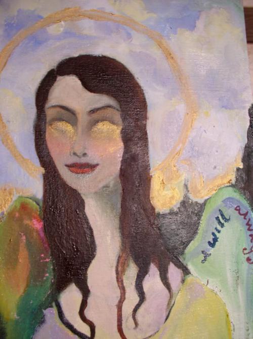 HOWEVER FAR AWAY. 2006-7. Oil on canvas, 18x24.