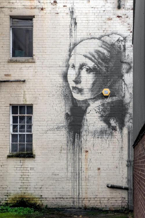 BANSKY'S VERMEER: Girl With A Pearl Earring